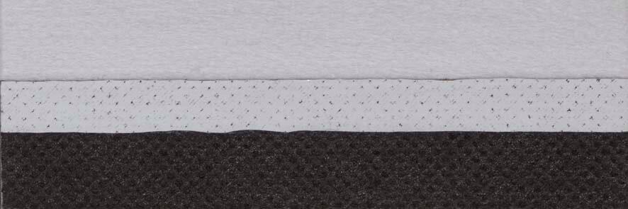 Honingraat plissé Exclusief 731008, reflectie 67%, transparantie 0%, absorptie 33% (verduisterend en brandvertragend) – zwart