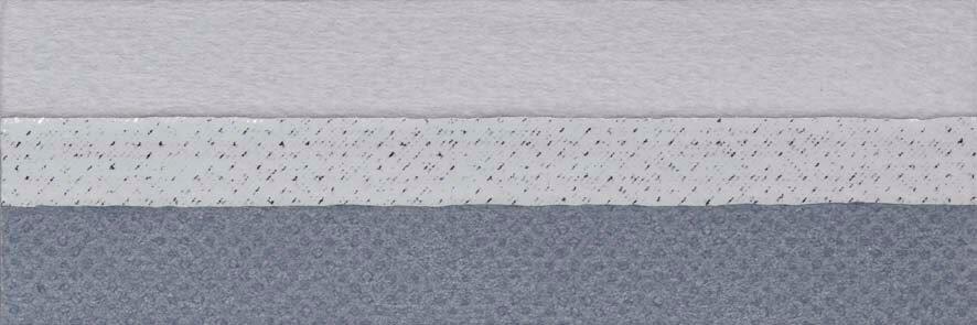 Honingraat plissé Exclusief 731009, reflectie 67%, transparantie 0%, absorptie 33% (verduisterend en brandvertragend) – (grijs)blauw