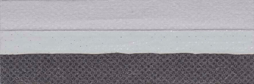 Honingraat plissé Exclusief 731010, reflectie 67%, transparantie 0%, absorptie 33% (verduisterend en brandvertragend) – grijs