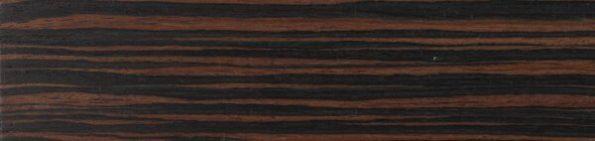 Houten jaloezie 50 mm - Ebbehout - Exotic wood - 301205
