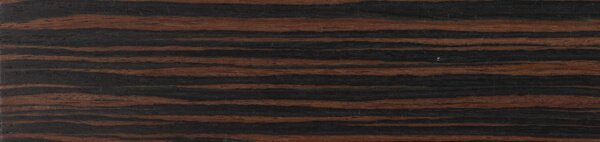 Houten jaloezie 'Exclusief' 301205 – Exotic wood – Ebbehout – max 2500 mm breed