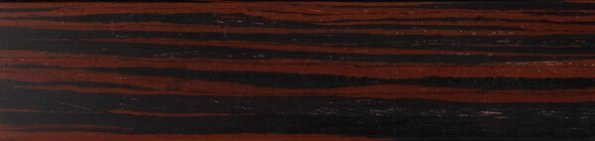 Houten jaloezie 50 mm - Rood Ebbehout - Exotic wood - 301207