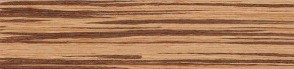 Houten jaloezie 50 mm - Zebrano - Exotic Wood - 301210
