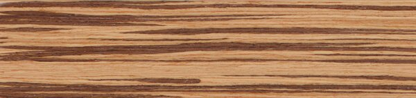 Houten jaloezie 'Exclusief' 301210 – Exotic wood – Zebrano – Max 2500 mm breed