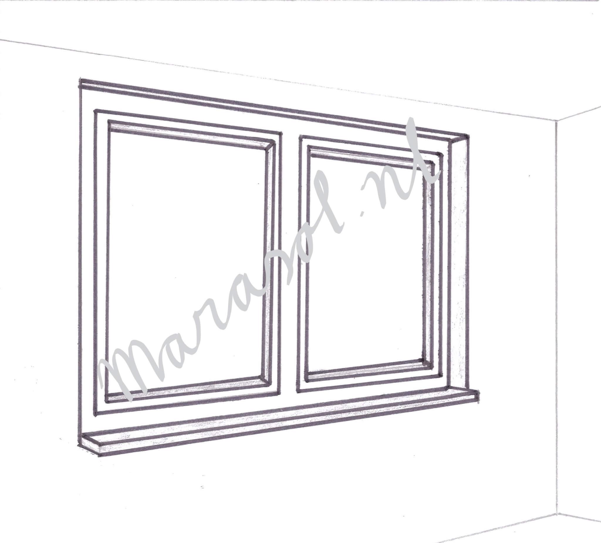Vaste en openslaande ramen en deuren
