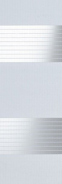Linee shades 728210, IJs wit, stofbreedte 260 cm