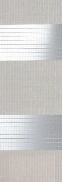 Linee shades 728222, Licht Taupe, stofbreedte 260 cm