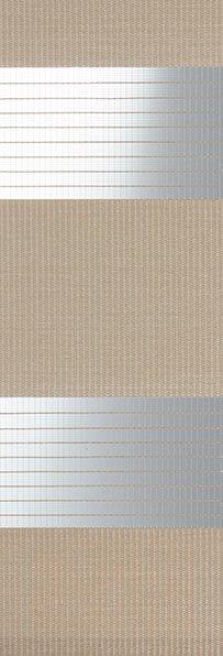 Linee shades 728225, Medium Taupe, stofbreedte 260 cm
