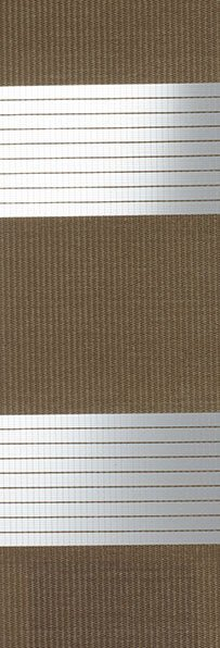Linee shades 728228, Taupe, stofbreedte 260 cm
