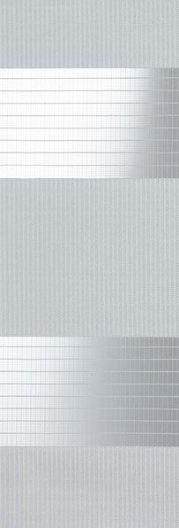 Linee shades 728242, Lichtgrijs, stofbreedte 260 cm