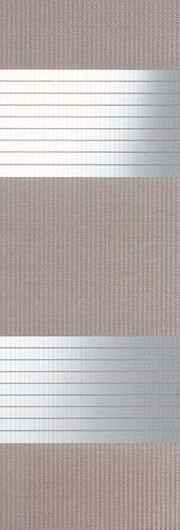 Linee shades 728244, Medium grijs, stofbreedte 260 cm