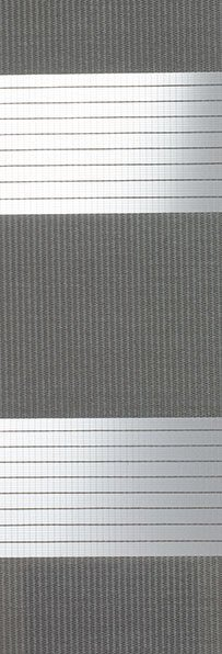 Linee shades 728246, donkergrijs, stofbreedte 260 cm