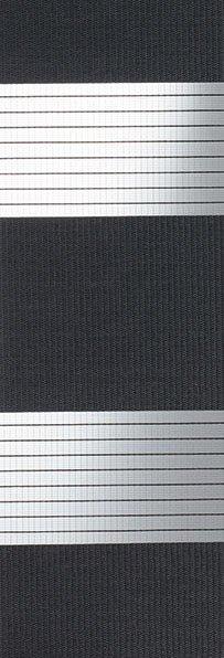 Linee shades 728267, houtskool, stofbreedte 260 cm