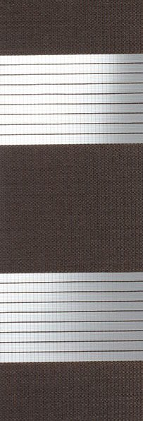 Linee shades 728295, Chocolate, stofbreedte 260 cm