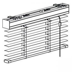 Zonder staaldraad zijgeleiding (standaard)