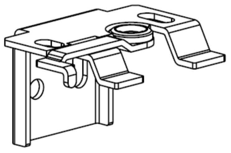 Standaard schaarsteunen (plafond/wand)