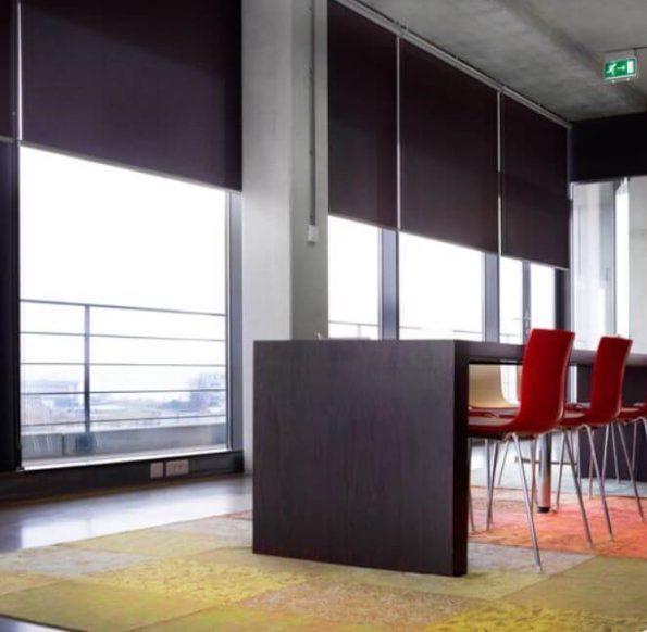 Rolgordijnen comfort collection: Rolgordijnen van screendoek