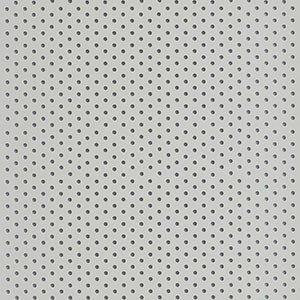 Kunststof lamelgordijnen Plus - 200098 - Lichtgrijs met gaatjes patroon - Verkrijgbaar in 89 mm