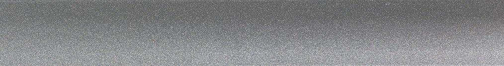Aluminium jaloezie 'Groep 1' 10.2003 zilver glans- beschikbaar in 25 – 35 – 50 – 70 mm – kleur bovenbak en onderlat in zelfde kleur als de lamellen
