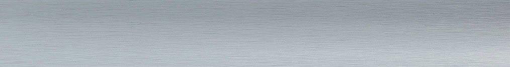Aluminium jaloezie 'Groep 2' 10.2300 zilver met lichte structuur zijdeglans – beschikbaar in 25 – 35 – 50 – 70 mm – bovenbak en onderlat in kleur: 10.2291 (zilver glans)