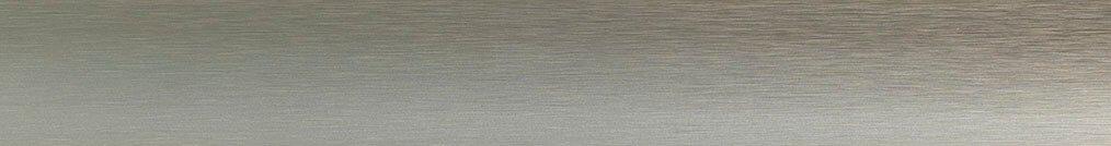 Aluminium jaloezie 'Groep 2' 10.2303 zilver/goud met lichte structuur zijdeglans – beschikbaar in 25 – 50 – 70 mm – bovenbak en onderlat in kleur 10.2004 (goud zijdeglans)
