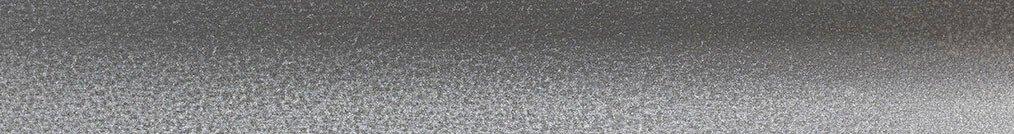 Aluminium jaloezie 'Groep 1' 10.2365 zilver zijdeglans met lichte structuur – beschikbaar in 25 mm – bovenbak en onderlat in kleur: 10.2291 (zilver glans)