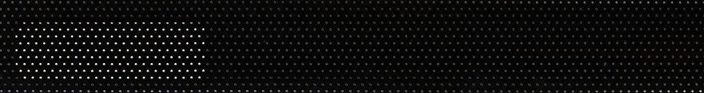 Aluminium jaloezie 'Groep 2' 10.2375 zwart zijdeglans met gaatjes – beschikbaar in 25 – 50 mm – Kleur bovenbak en onderlat: 10.2332 (zwart zijdeglans)