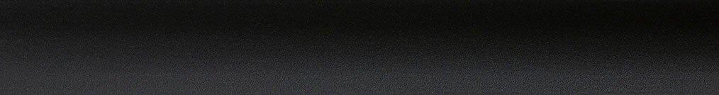 Aluminium jaloezie 'Groep 2' 10.2414 mat zwart – beschikbaar in 25 – 50 – 70 mm – kleur bovenbak en onderlat: 10.2332 (zwart zijdeglans)
