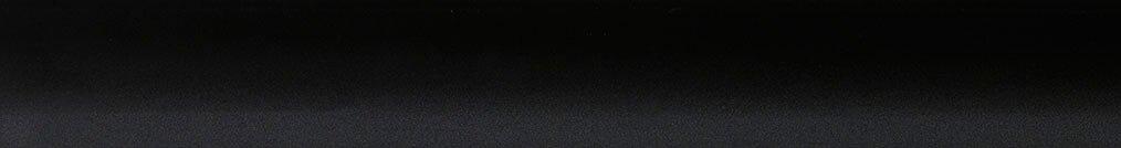 Aluminium jaloezie 'Groep 1' 10.2415 mat zwart- beschikbaar in 25 mm – kleur bovenbak en onderlat: 10.2332 (zwart zijdeglans)