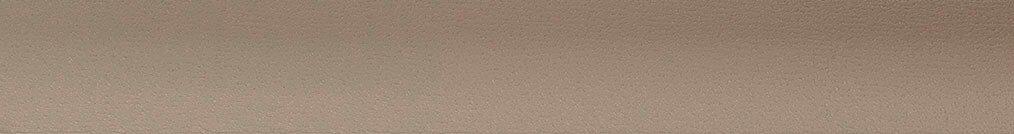 Aluminium jaloezie 'Groep 1' 10.2457 taupe met structuur zijdeglans – beschikbaar in 25 mm – bovenbak en onderlat in kleur 10.2456 (lichtbruin zijdeglans)