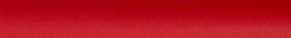 Aluminium jaloezie 'Groep 3' 10.2719 rood mat – beschikbaar in 25 – 50 mm – bovenbak en onderlat in kleur 10.2464 (rood)