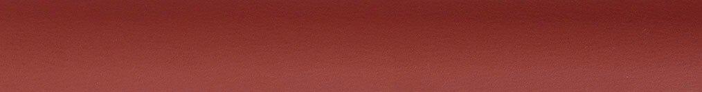 Aluminium jaloezie 'Groep 3' 10.2720 bruinrood mat – beschikbaar in 25 – 50 mm – bovenbak en onderlat in kleur 10.2358 (wijnrood zijdeglans)