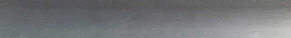 Aluminium jaloezie 'Groep 1' 10.2726 zilver zijdeglans – beschikbaar in 25 mm – bovenbak en onderlat in kleur 10.2291 (zilver glans)