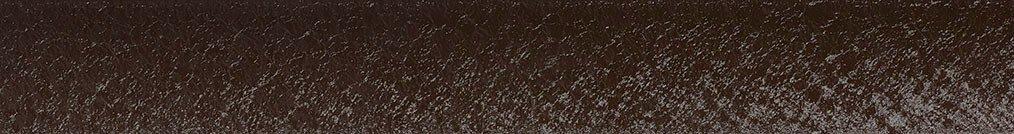 Aluminium jaloezie 'Groep 3' 10.2731 donkerbruin met structuur – beschikbaar in 25 – 50 mm – Kleur bovenbak en onderlat: 10.2332 (zwart zijdeglans)