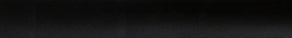 Aluminium jaloezie 'Groep 0' 10.2743 zwart mat – beschikbaar in 25 – 50 mm – Kleur bovenbak en onderlat: 10.2332 (zwart zijdeglans)