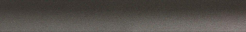 Aluminium jaloezie 'Groep 0' 10.2746 – taupe/bruin metallic – beschikbaar in 25 – 50 mm – Kleur bovenbak en onderlat: 10.2705 (donker grijs mat)