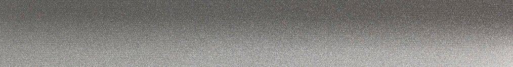 Aluminium jaloezie 'Groep 0' 10.2747 – zilver metallic zijdeglans – beschikbaar in 25 – 50 mm – Kleur bovenbak en onderlat: 10.2331 (grijs zijdeglans)