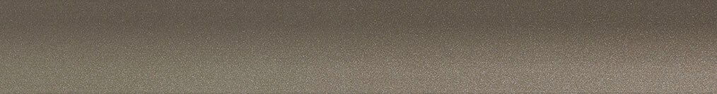 Aluminium jaloezie 'Groep 0' 10.2748 – taupe metallic zijdeglans – beschikbaar in 25 – 50 mm – Kleur bovenbak en onderlat: 10.2705 (donker grijs mat)