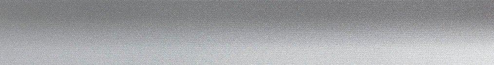 Aluminium jaloezie 'Groep 0' 10.2750 zilver zijdeglans – beschikbaar in 25 – 50 mm – bovenbak en onderlat in kleur 10.2291 (zilver glans)