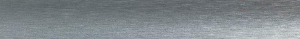 Aluminium jaloezie 'Groep 1' 10.2751 zilver met lichte structuur zijdeglans – beschikbaar in 25 mm – bovenbak en onderlat in kleur: 10.2291 (zilver glans)