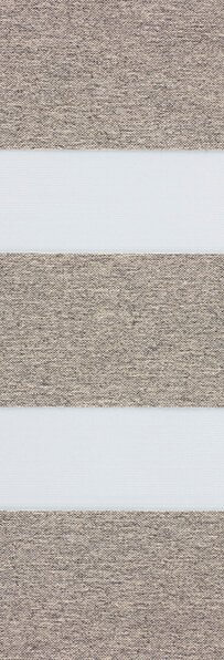 Duo rolgordijn taupe 744400 (linee shade) 74.4400 - taupe - PG1