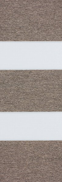Duo rolgordijn bruin /taupe 744401 (linee shade) 74.4401 - bruin/taupe - PG1