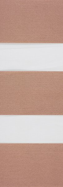 Duo rolgordijn bruin /taupe 745305 (linee shade) 74.5305 - bruin/taupe - PG0