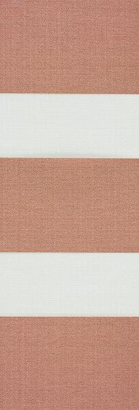 Duo rolgordijn bruin /koper 745306 (linee shade) 74.5306 - bruin/koper - PG0