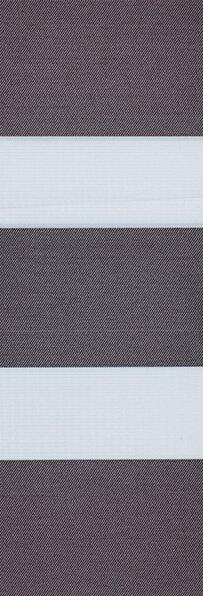 Duo rolgordijn zwart /donkergrijs 745309 (linee shade) 74.5309 - zwart/grijs - PG0