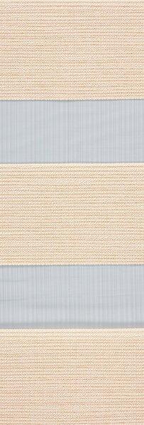 Duo rolgordijn zand /beige 745502 (linee shade) 74.5502 - zand/beige - PG1