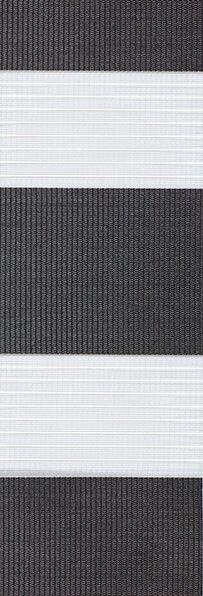 Duo rolgordijn zwart 748269 - Duo rolgordijn (linee shade) 74.8269 - zwart - PG0