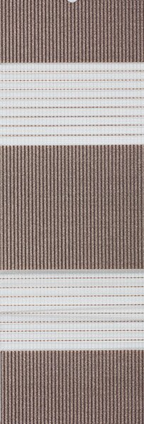 Duo rolgordijn taupe /bruin 748293 - Duo rolgordijn (linee shade) 74.8293 - taupe/bruin - PG0 -