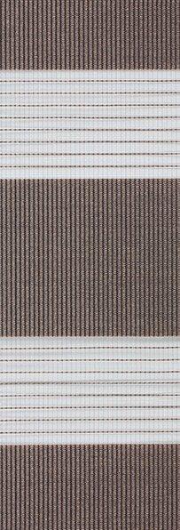 Duo rolgordijn donkerbruin - 74.8295 - Duo rolgordijn (linee shade) 74.8295 - donkerbruin - PG0