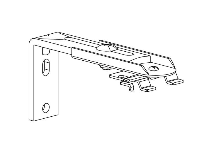 Afstandsteunen (60 – 108 mm), per set
